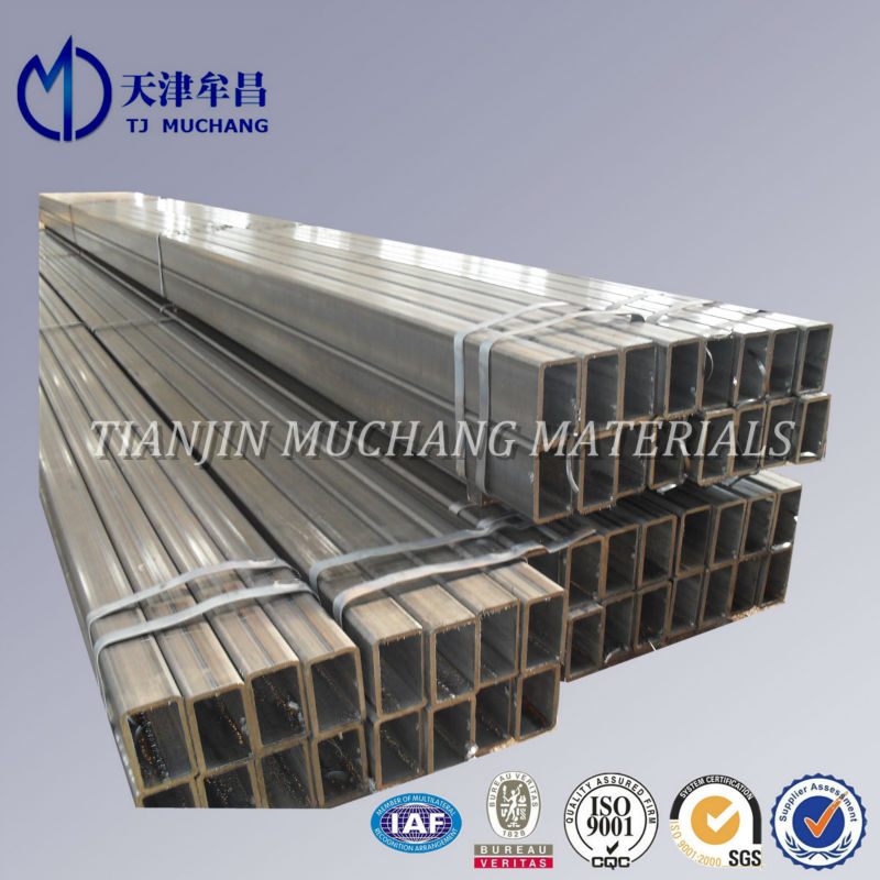 high quality Q195/Q345 carbon Welded Square/rectangular Pipe