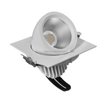 Recessed led grille light COB gimbal downlight Adjustable spot light