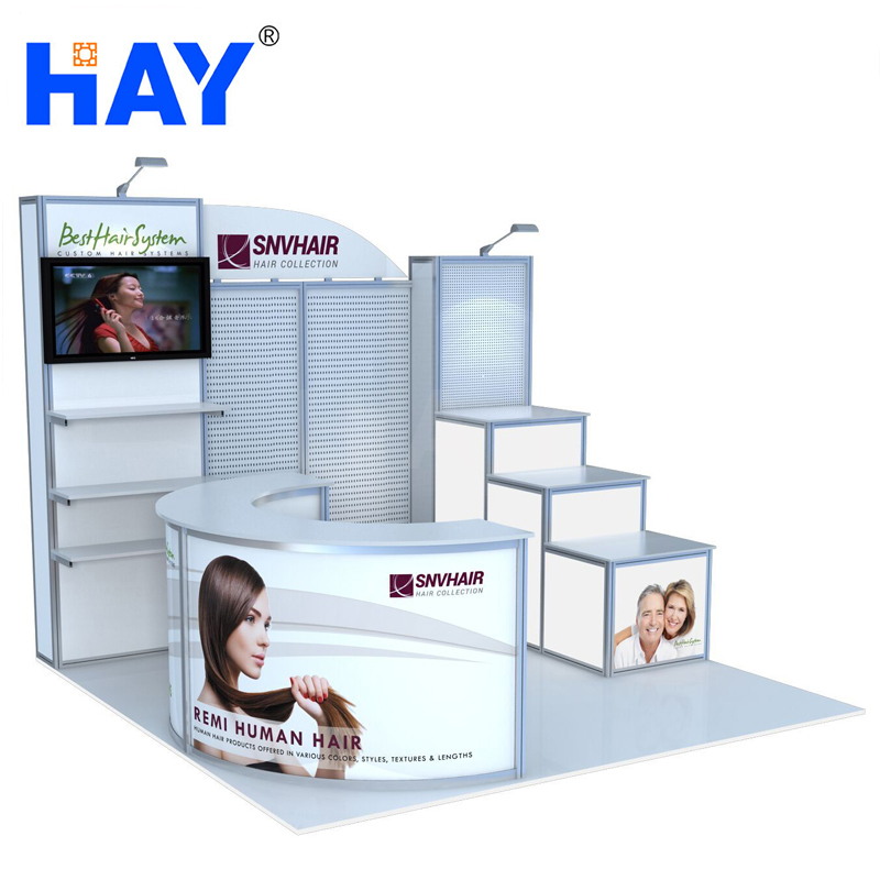10x10 exhibition booth design