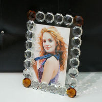2016 exquisite crystal and rhinestone picture frame
