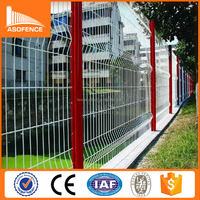 Trade Assurance/Hot sale pvc coated welded galvanized iron wire mesh fence for boundary wall