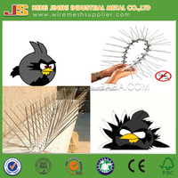 Plastic polycarbonate bird control spikes, pigeon spike , anti bird spikes needle strips