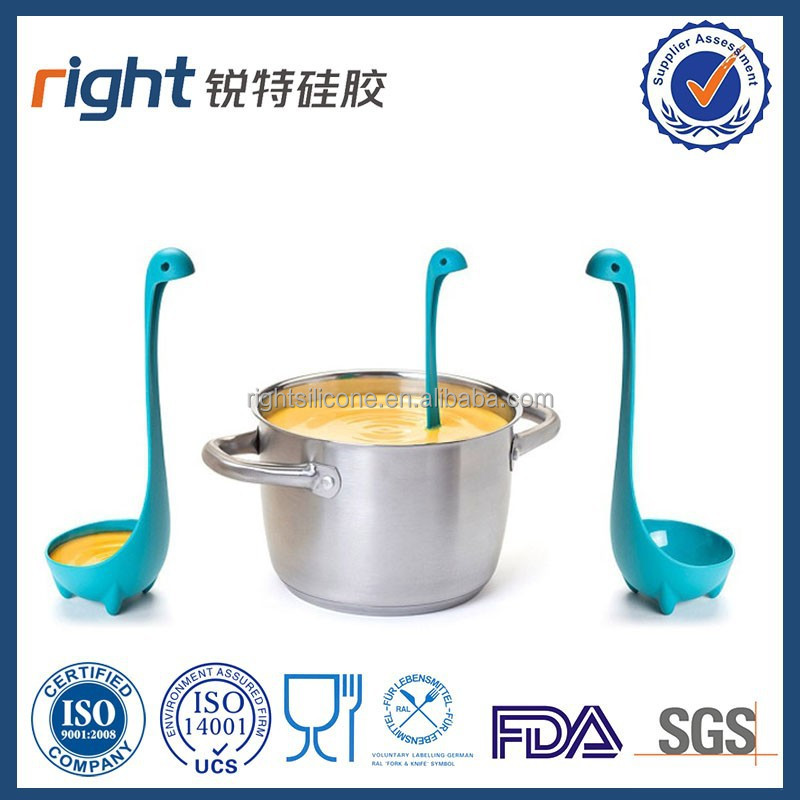New DesignFunction Silicone Cute Swam Spoon for cooking