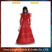 Wholesale halloween scary corpse bride costume red zombie costume
