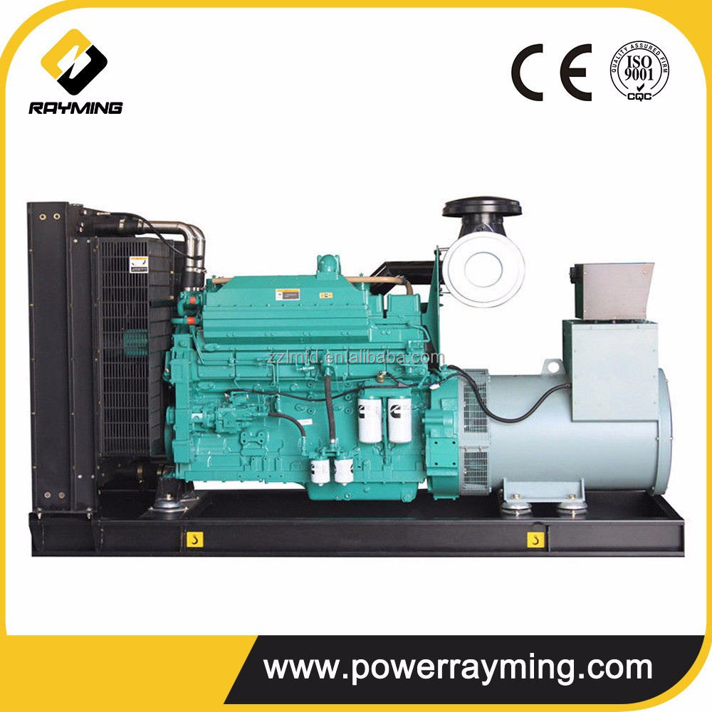 China Factory 450Kw Diesel Generator Powered By Cummins Engine