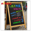 Promotional Outdoor Natural Blackboard with Chalk