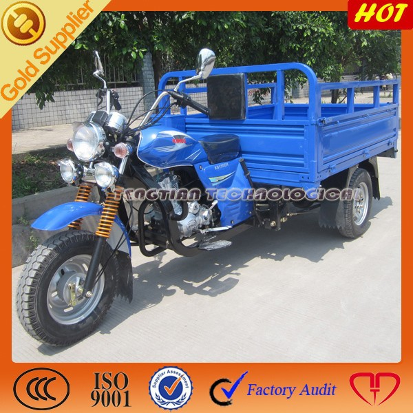 top 3 wheel tricycle/China cargo tricycle/2015 hot three wheel motorcycle