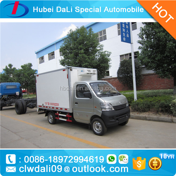 4x2 refrigerator container refrigerator cooling van for sale