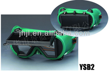 Rectangle glass lens with Ventilate welding googles