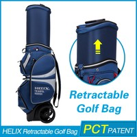 New model golf bag with shoe compartment with rain cover