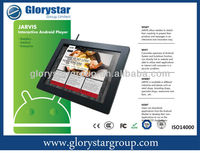 Android Tablet with wifi and camera for retailers and sales promotion for consumer