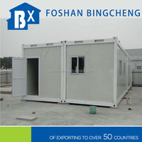 portable sandwich panel steel frame container home