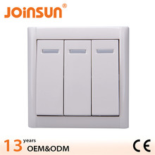 Hot design 3 gang 1 way switch 5 gang switch and dimmer