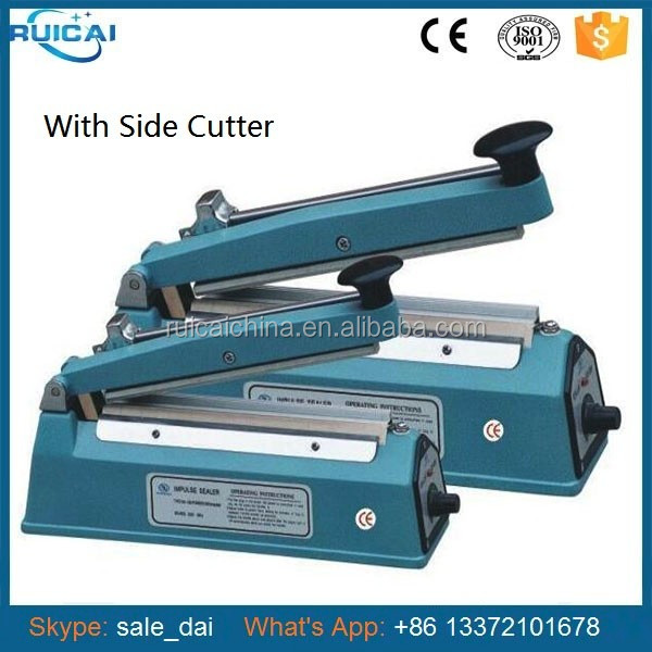 400mm Sealing Length Plastic bags Hand Impulse Sealer with Side Cutter