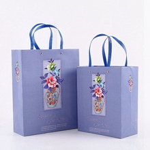 Wholesale Happy Easter Painted Eggshell Colorful Gift Paper Bag