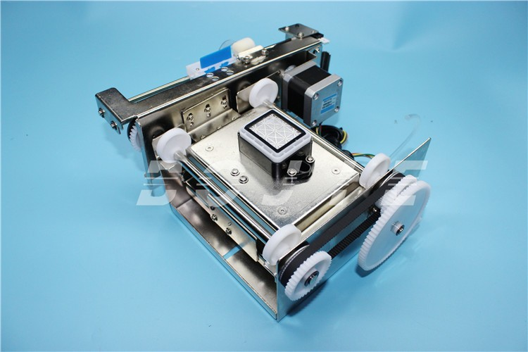 Automatic lifting ink capping station for epson dx5 print head