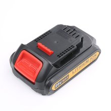 Lithium-ion 18V 20 V cordless drill replacement dewalt rechargeable battery
