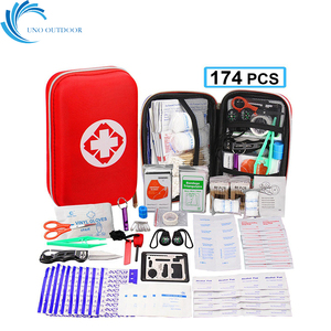 Outdoor product portable carry up traveling survival medical first aid kit