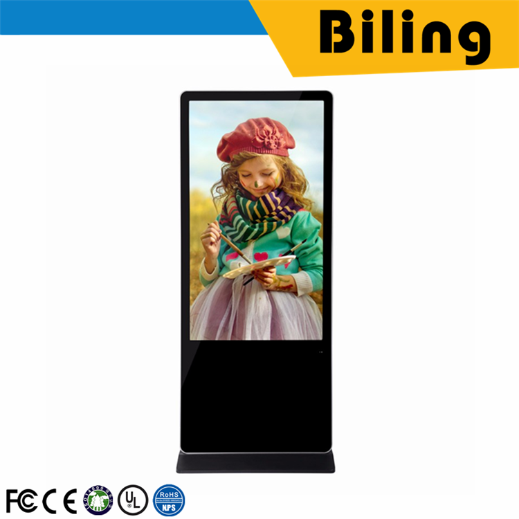 best selling SAD5502W AD Player digital advertising kite 42/46/55/65Inch touch Screen