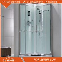 YY Home shower room enclosure glass shower roo diamond artistic bath enclosure room