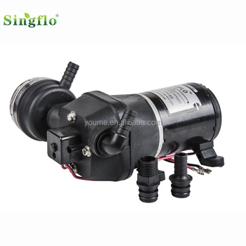 Singflo 12v 35psi 12.5LPM 12v dc RV/Caravan/shower/yacht sea water marine pump
