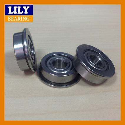 High Performance Rc Car Flanged Wheel Bearing