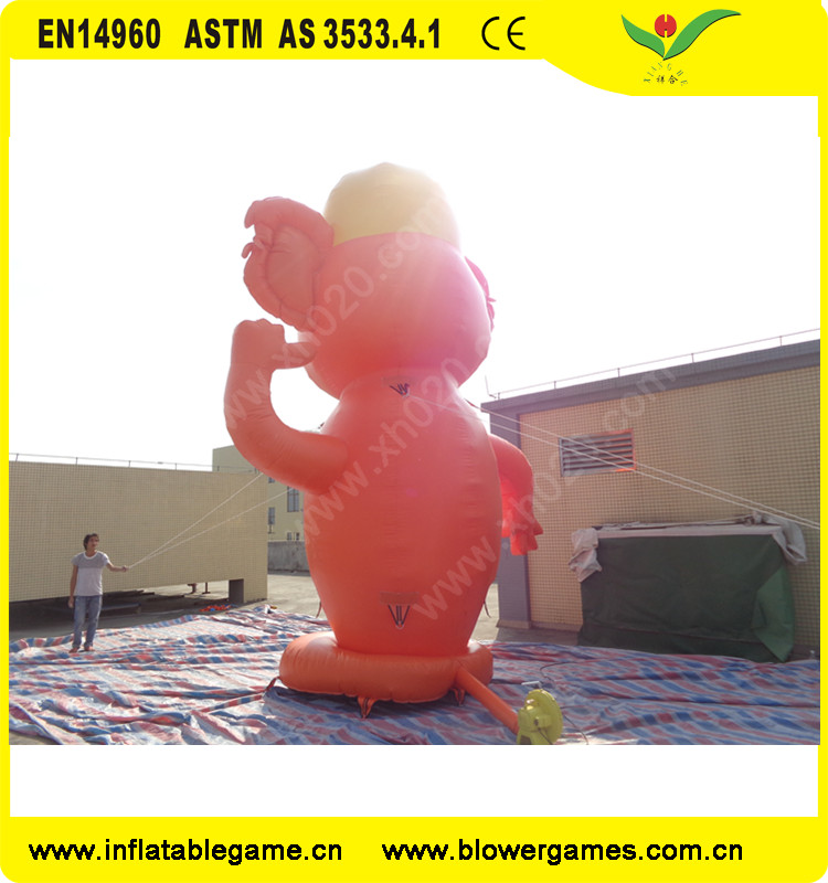 Brand new inflatable cartoon Advertment with long service life