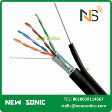 Free Sample Cat5/Cat6/Cat6a/Cat7 Jumper Cable Multi Core Cat5e Cable 1m 2m 5m AMP Cat6 Patch Cord Customization Length