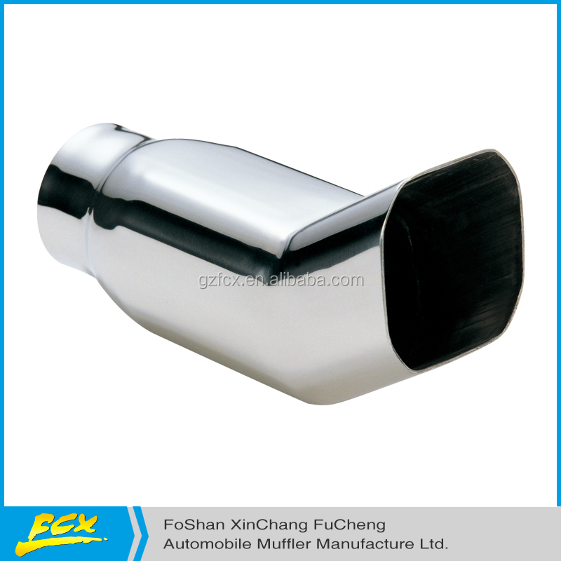 exhaust muffler tail pipe car stainless steel material