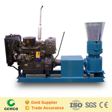 High efficiency wheat cotton rice straw pellet press machine