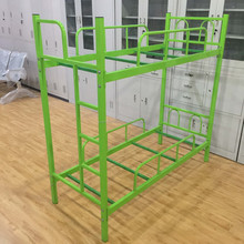 YT-C006, Cheap double decker dormitory wrought iron bunk bed