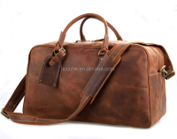 best designer wholesale brown vintage leather handbag china