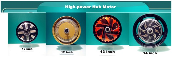 750watt brushless hub motor