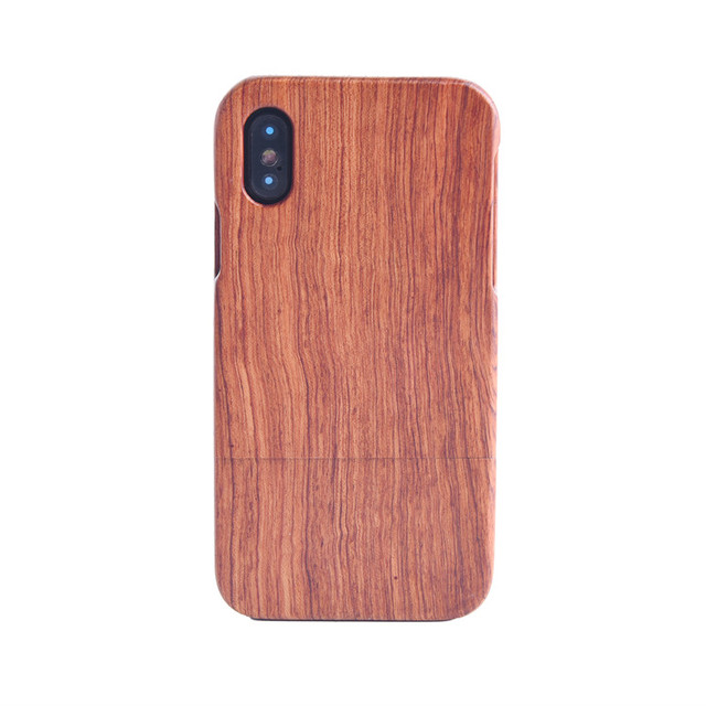 Skull Blank Wooden Phone Case for iPhone 10 for iPhone X Wood Case Cassette
