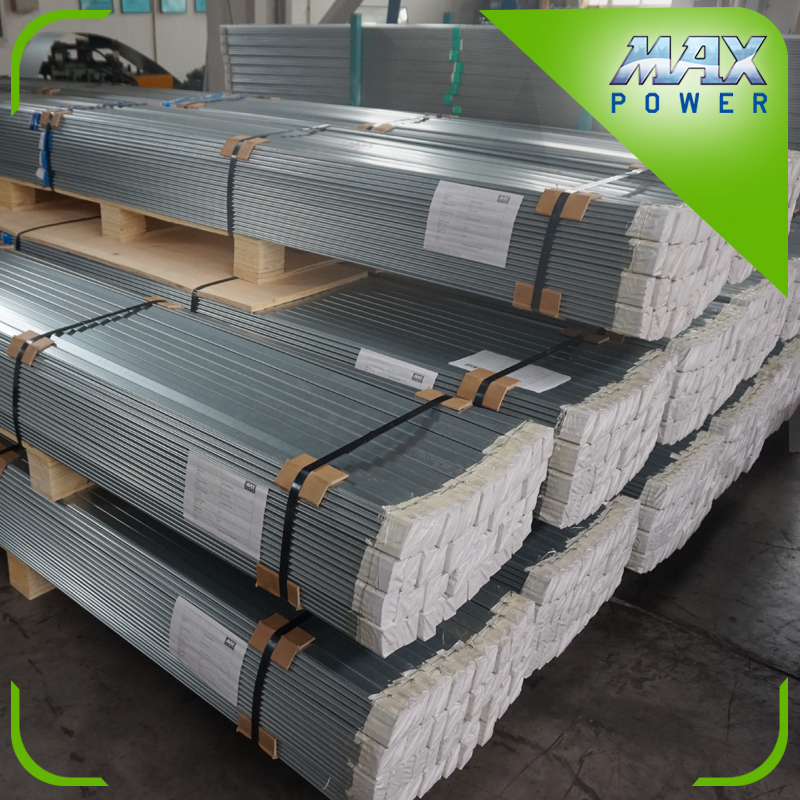 Greenhouse wiggle wire cips aluminum channel