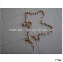 olive wood 10 decade rosary