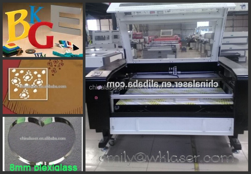 chinese laser cutter machine LC6090 / wedding invitation card printing machine