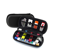 Accessories Storage Bag,Cable Organizer Hard Shockproof Case,power bank set