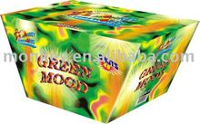 49 Shots Green Mood Cake Fireworks[M4907F]