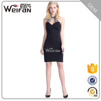 Chinese Wholesale Halter Sequin Lady Dress Luxury Women Dresses Sexy