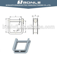 Shackle Insulator Bracket Hot Dip Galvanized