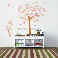 ZOOYOO love bird decoration fashion decoration stickerl garden tree wall decoration custom decal (7250)