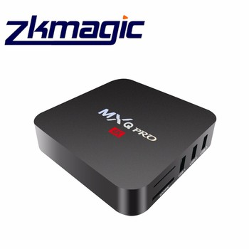 MXQ Pro S905X quad-core 4k 2.4 g wifi and 100M Ethernet with android 6.0 tv box