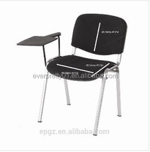 Student Furniture School Chair with Writing Board and Book Basket French Writing Desk