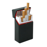 South Korean Leather Cigarette Case for Slim Cigarettes
