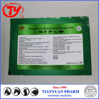 Chicken growth enhancers tetramisole hcl Soluble Powder 10% for poultry farming
