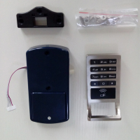 latest technology digital cabinet lock hotel key card lock