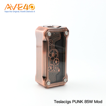 2018 Newest Teslacigs E-Cig PUNK 85W Box Vape Mod from China AVE40