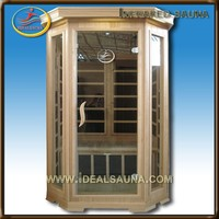 dry cleaning equipment for spa&infrared sauna house,Health Benefit Far Infrared Sauna Cabin