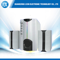 new product protable wireless bluetooth active 2.1 home theater speaker system